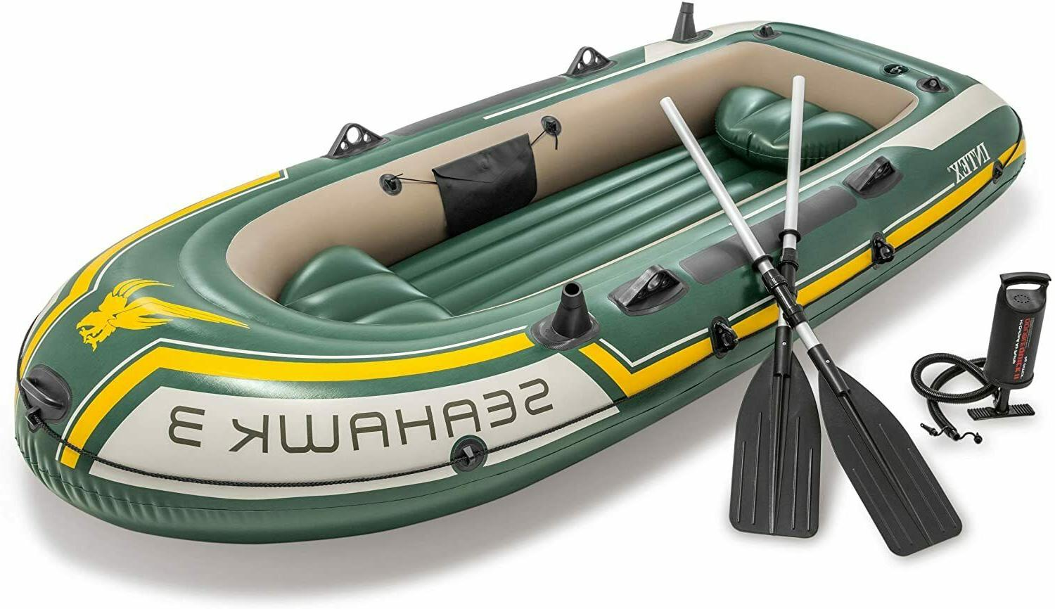 Inflatable Fishing Family Oars for 3 People