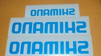 shimano decal set of 3 fishing boats