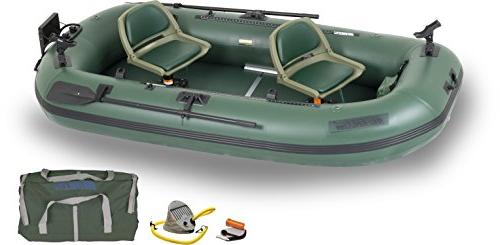 Sea Stealth Stalker STS10 Fishing Boat, Green