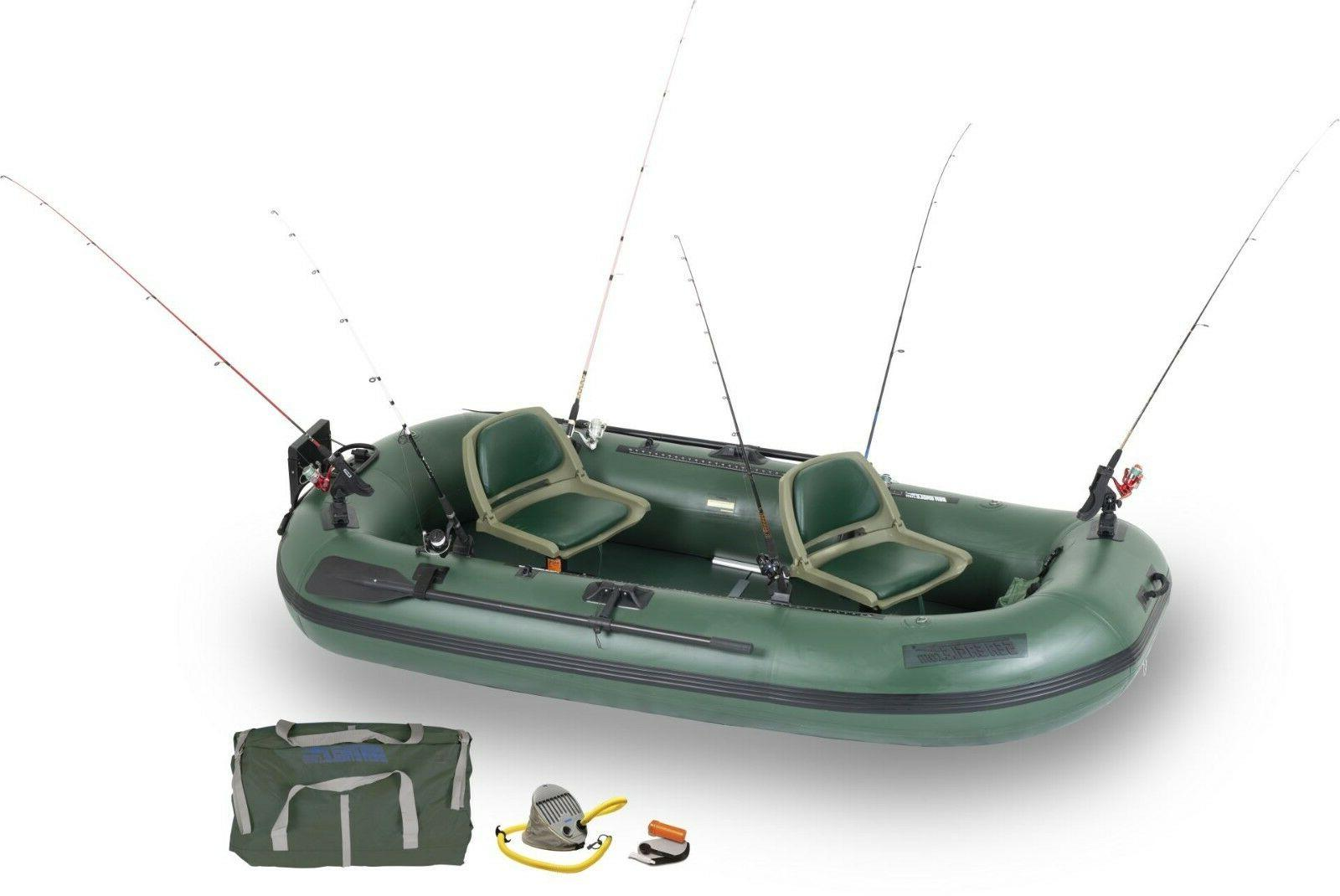 sts10 pro package stealth stalker inflatable fishing