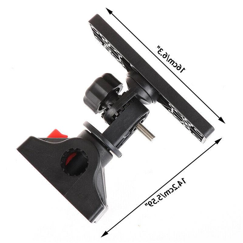Universal Fish Finder Mount Plate Rotating Boat Suppor po