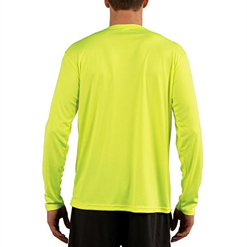 Vapor Men's 50+ Solar Performance Long Sleeve Yellow