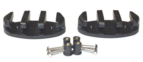 zig zag anchor cleat w well nuts