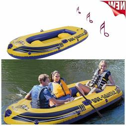 Leisure 3-Person 8FT Inflatable Dinghy Boat Fishing Rafting