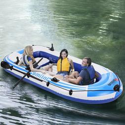 Leisure 3 Person 8FT PVC Inflatable Dinghy Boats Fishing Raf