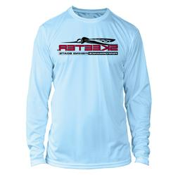 long sleeve microfiber upf fishing shirt arctic
