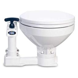 Jabsco 29120-5000 Twist n' Lock, Manual Marine Toilet, Regul