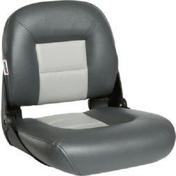 TEMPRESS NAVISTYLE LOW BACK BOAT SEAT CHARCOAL/GRAY 54675