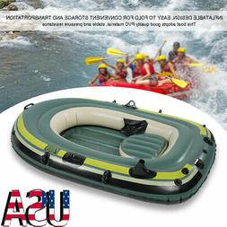 New Inflatable 2 Person Water Fishing River Raft Boat Drifti
