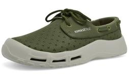 New Soft Science Mens Size 10 US The Fin Sage Green Fishing