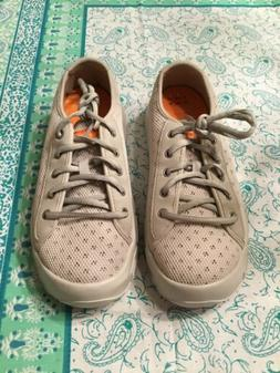 New Soft Science Mens Boating Fishing Shoes Gray/Orange 8 Me