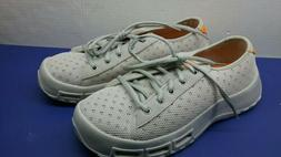New Soft Science Mens Boating Fishing Shoes Gray/Orange 9 Me