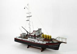 "The ORCA from the movie ""JAWS"" Wooden Fishing Boat Model"