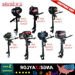 Outboard Motor Inflatable Fishing Boat Engine Motor 3.5/4/6.