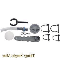 Classic Accessories Small Pontoon Boat Repair Kit - Gray