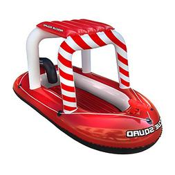 Pool Float Rescue Squad   Inflatable Boat w/ Squirter Water