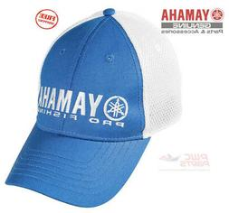 YAMAHA PRO Fishing Hat Cap Outboard Outdoors Blue White Boat