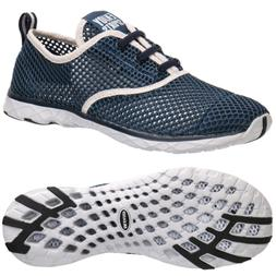 ALEADER Men's Quick Drying Aqua Water Shoes Blue 7 D US