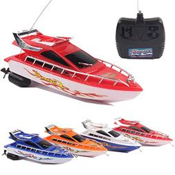 Latburg Remote Control Boat Rc Jet Fishing Speed Boat Electr
