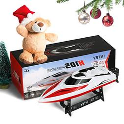 INTEY Remote Control Boat RC Boat 25KM/H High Speed Capsize