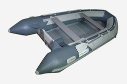 14.1 ft Roll Up Inflatable Boat Aluminum Floor Dinghy Yacht