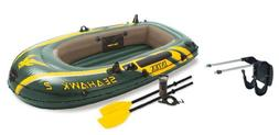 seahawk 2 inflatable boat set