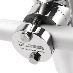 Rail Mount Stainless Steel Fishing Pole Stand Clamp On Boat