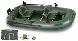 SEA EAGLE STEATH STALKER10  INFLATABLE FISHING BOAT WITH MOT