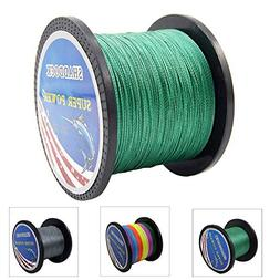 Super Strong Braided Fishing Line - 4 Strands Multifilament
