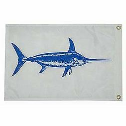 Taylor Made Products 4418, Fish Flag, Nylon, 12 inch x 18 in