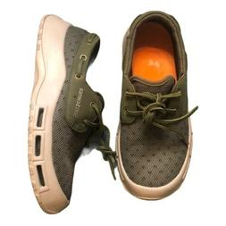 SoftScience The Fin Men's Boating/Fishing Shoes - Army Green