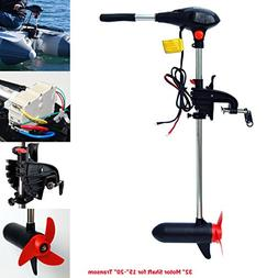 SEAMAX 65 Pound Thrust 32 Inches Shaft 12V Electric Trolling