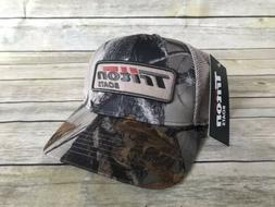 Triton Boats True Timber Camo Mesh Back Cap NWT Fishing Appa
