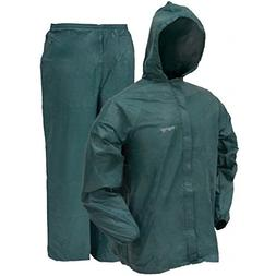 Frogg Toggs Ultra-Lite2 Rain Suit with Stuff Sack, Green