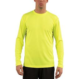 Vapor Apparel Men's UPF 50+ Solar Performance Long Sleeve T-