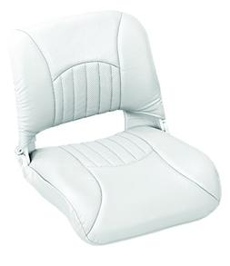 Wise Vinyl Clam Shell Style Folding Boat Seat, Cuddy Bright