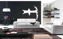 Wall Art Vinyl Sticker Room Decal Mural Decor Boat River Peo