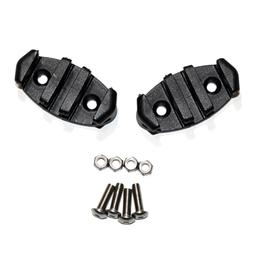 Zig Zag Anchor Cleat w/ Lock Nuts for Kayaks, Canoes, Boats,